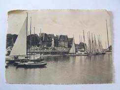 Cp1107 Tom18  TROUVILLE Le  Bassin Des Yatchs 1947 - Trouville