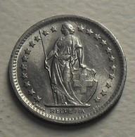 1968 - Suisse - Switzerland - 1/2 FRANC, (B), KM 23a.1 - Suisse