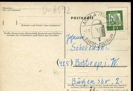 18960 Germany , Special Postmark 1962 Auma,  Elektro Porzellan, Porcelaine, Porcelain - Elettricità