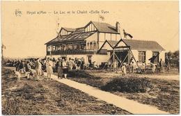 Heyst-sur-Mer NA25: Le Lac Et Le Chalet Belle Vue 1932 - Heist