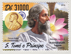 Sao Tome Principe (B11) Nobel Rabindranath Tagore MNH **.