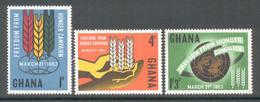 Ghana 1963 - Michel 138 - 140 **