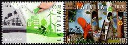Latvia - 2016 - Europa CEPT - Think Green - Mint Stamp Set - Letonia