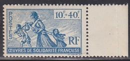 = Au Profit Des Oeuvres De Solidarité Française, Colonies Françaises N°66 Neuf - Otros
