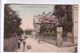 76 Les PETITES DALLES Grand Rue Hôtel Des Pavillons CPA 1906 - Autres Communes