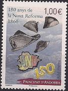 2016 Andora Fr. Mi. 802 **MNH   150. Jahrestag Der Neuen Reform Von 1866 - Unused Stamps