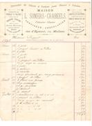 Facture Datée En 1905 De L.Somers-Crabeels Confiseur - Chocolatier à Malines PR4143 - 1900 – 1949
