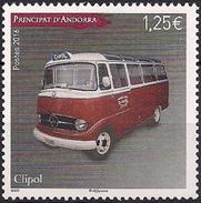 2016 Andora Fr. Mi. 808 **MNH   Clipol-Bus Mercedes 319 - Unused Stamps
