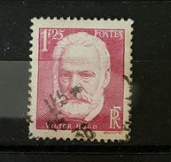 YT 304 - Victor Hugo -  1fr25 - Oblitere