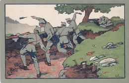 Stiftung Der 6. Division - Verlosungskarte Zur Nationalspende 1919    (P25-40831) - Régiments