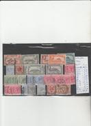TIMBRES DE GIBRALTAR OBLITEREES NR VOIR SUR PAPIER ACCOMPAGNANT LES TIMBRES  COTE 48,35€ - Gibraltar