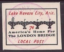 USA Modern Local Post  - Lake Havasu City Local Post - United States