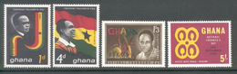 Ghana 1963 - Michel 153 - 156 **