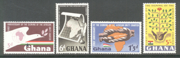 Ghana 1964 - Michel 177 - 180 **