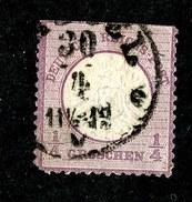 W3960  Empire 1872  Michel #16 O Fault ( 130.€ ) Offers Welcome. - Deutschland