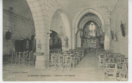 SAINT BONNET - Intérieur De L'Eglise - Altri Comuni