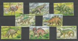 Animaux Préhistoriques - Triceratops - Anatosaurus - Tyranosaurus - Spinosaurus - Stégosaurus - Diatryma - Parasauroloph