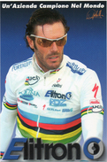 CYCLISME. Carte  Postale De Mario CIPOLLINI En Champion Du Monde. - Cycling
