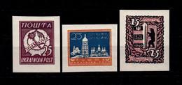 1948-49, Ukrainian Post, Reprint - MNH** - Ukraine & West Ukraine