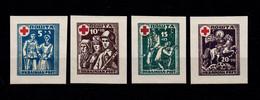 1941-43, Ukrainian Red Cross, Reprint - MNH** - Ukraine & West Ukraine