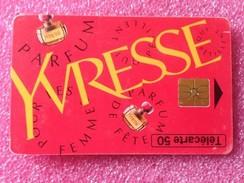 Télécartes YVRESSE De YSL - Perfume