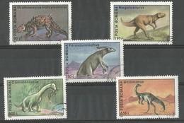Animaux Préhistoriques - Gallimimus - Parasaurolophus - Megalosaurus - Camarasaurus - Struthiosaurus