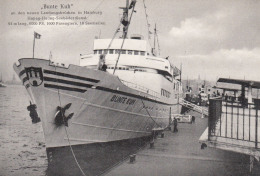 """Seebäderschiff """"Bunte Kuh"""",ungelaufen - Paquebote"""