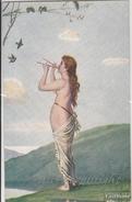 """NU_NUE_NUS_NUDE_NAKED WOMAN-NUDI ARTISTICI-""""Printemps"""" K.LANG Pinxit_Serie N°1543-Original D'epoca100%- - Malerei & Gemälde"""
