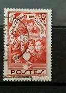 YT 312- Au Profit Des Enfants Des Chômeurst- Oblitere