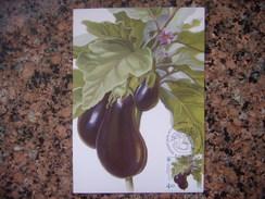 Uk.110S.  Légumes. Aubergine. Kartmaksymum. Premier Jour. Ukraine. 2016. Vegetables. Eggplant. Kartmaksymum. First Day. - Autres