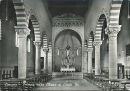 Camucia (frazione Di Cortona) Interno Della Chiesa Di Cristo Re VG 1954 - Italia