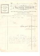 Facture Datée Du 2/1/1906 De Polydore Ossieur à Ypres Maitre-Tailleur à L'Ecole D'Equitation-Militaires PR4147 - 1900 – 1949