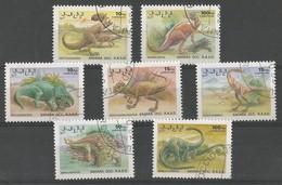 Animaux Préhistoriques - Protoceratops - Ankylos.- Nemegtos.- Psittacos.- Pachycephalos.- Saurolophus - Struthiomimus