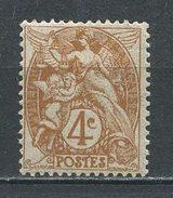 FRANCE 1900  N° 110 * Neuf  MH Infime Trace De Charnière TTB  Cote  3 € Type Blanc