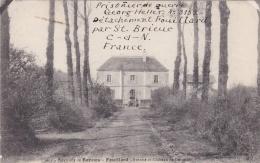 Prisoner Of War From German POW In France, Detachement Feuillard And P/m St Brieu***** 7.7.1916 (T9A18) - Militaria