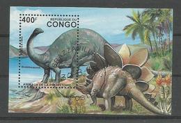 Animaux Préhistoriques - Brontosaurus - Stegosaurus