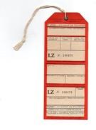 Etiquette De Bagages Tabso Bugarian Air Transport LZ N°246473 Sofia - Étiquettes à Bagages