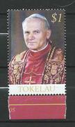 Tokelau 2005 Pope John Paul II, 1920-2005 - In Memoriam.MNH - Tokelau