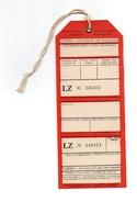 Etiquette De Bagages Tabso Bugarian Air Transport LZ N°246474 Sofia - Étiquettes à Bagages
