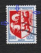 1468 *o* AUCH, Lion Sans Oeil, Agneau 1 Oreille, Manque Hauban Sous Croix