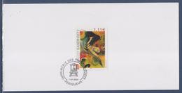 Encart Double Wassily Kandinsky Imprimerie Des Timbres Postes Périgueux 1.01.2004 N°3585