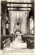 CPA 89 ( Yonne ) - SAINT JULIEN Du SAULT - Interieur De L'Eglise - Saint Julien Du Sault