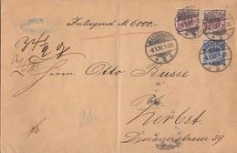 DR Wertbrief Mif Minr.48, 2x 50 Magdeburg 8.1.97 Gelaufen Nach Zerbst