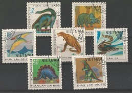 Animaux Préhistoriques - Pteranodon - Brontos.- Tyrannos.- Triceratop - Stegos.- Iguanodon - Mozasaurus