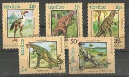 Animaux Préhistoriques - Trachodon - Ceratosaurus - Iguanodon - Tyrannosaurus - Phororhacus