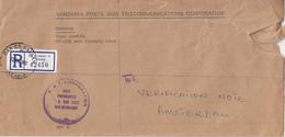 "Tanzania - Recommandé/Registered Letter/Einschreiben - Dar Es Salaam ""K "" - Tanzania (1964-...)"