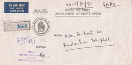 India - Recommandé/Registered Letter/Einschreiben - Oaloutta - India