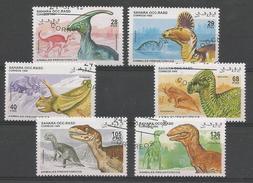Animaux Préhistoriques - Iguanodon - Duranos.- Dilophos.- Allos.- Velociraptor - Deinonychus - Toros.- Pentaceratops - .