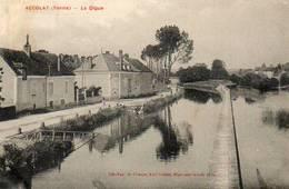 CPA - ACCOLAY (89) - Aspect Du Quartier De La Digue En 1926 - Francia