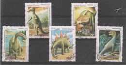 Animaux Préhistoriques - Tyronos.- Tracodonte - Stegos.- Brontos.- Protoceratops
